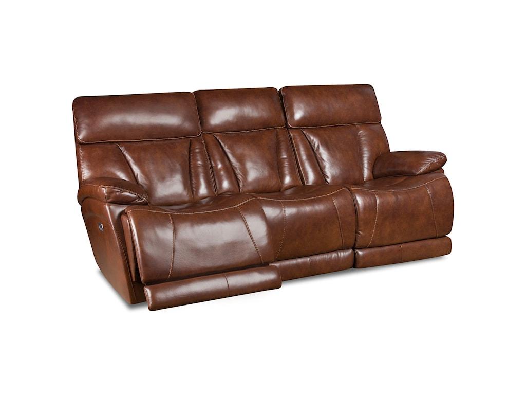 Corinthian Athens Leather L94006 39hrlb Power Headrest Reclining