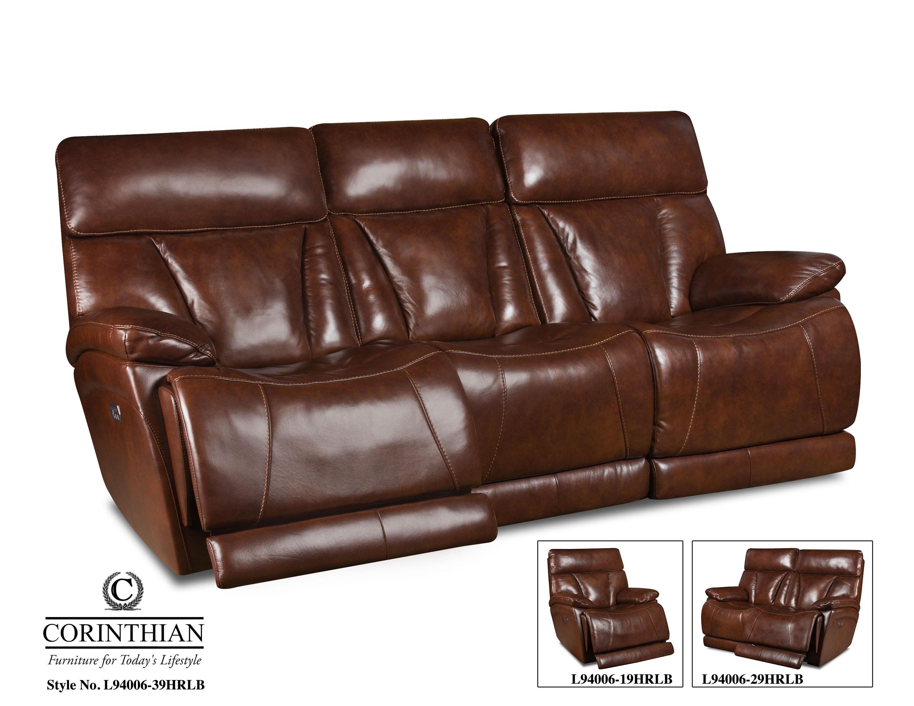 Corinthian L9400 Power Sofa