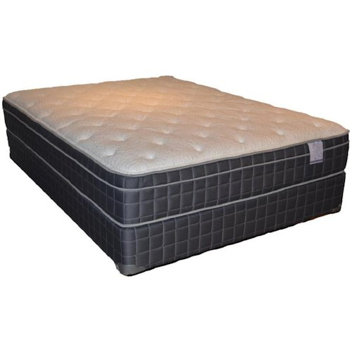 Corsicana 100 Eurotop Queen 100 Eurotop Mattress and Box Spring