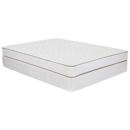 Corsicana 1005 Plush Queen Plush Innerspring Mattress and 9