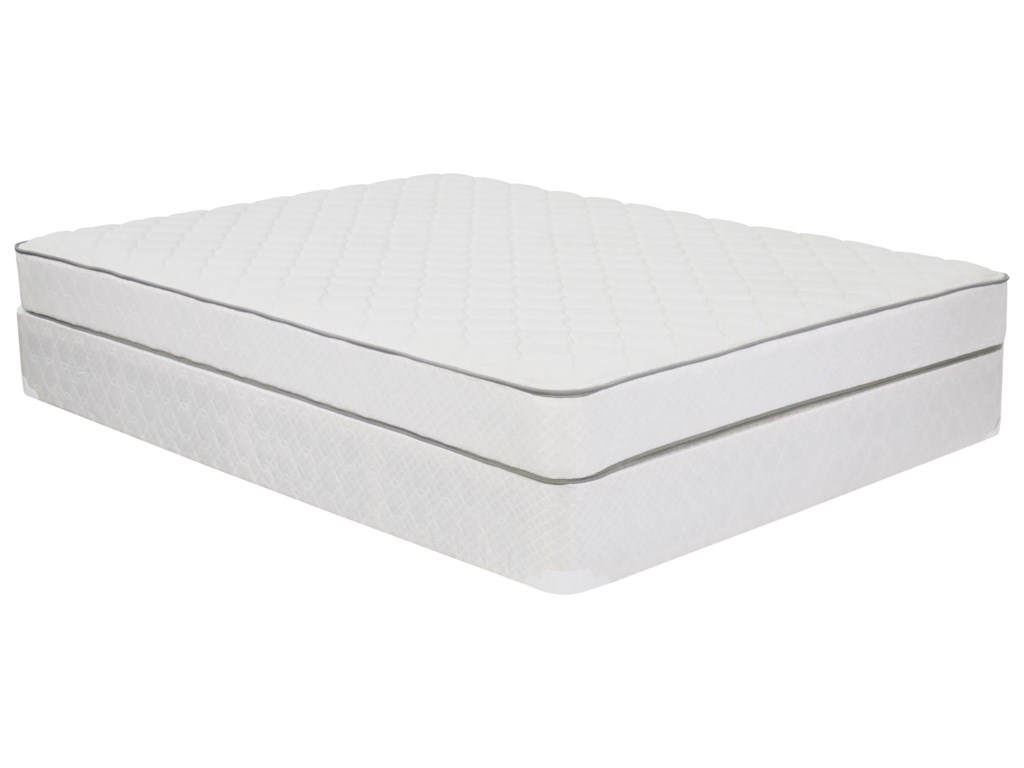 Corsicana 1005 PlushQueen Plush Innerspring Mattress Set