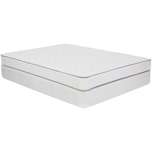 Corsicana 1005 Plush Full Plush Innerspring Mattress and 9