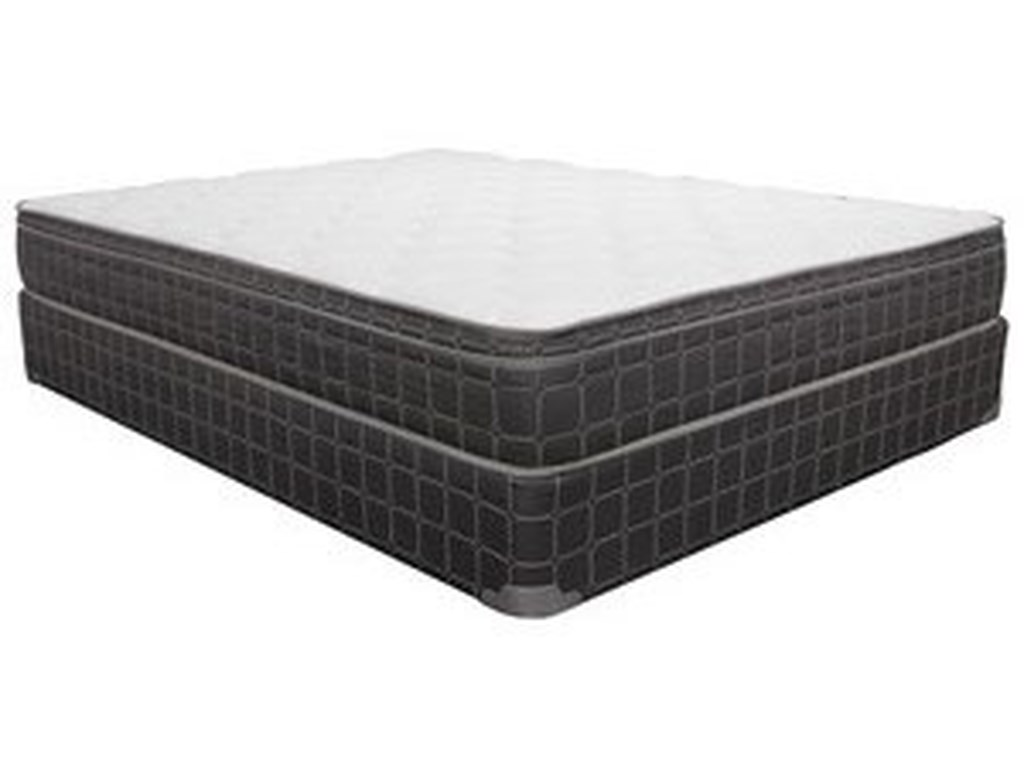 Corsicana 1025 Euro TopQueen Euro Top Innerspring Mattress & 7