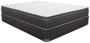 Corsicana 1025 Euro Top Twin Euro Top Innerspring Mattress and 7