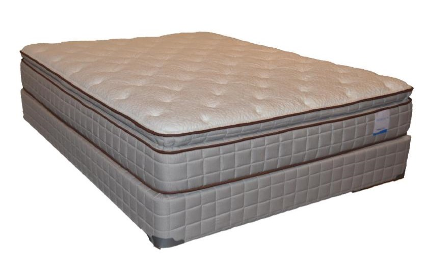 Corsicana 115 Pillow TopTwin Pillow Top Mattress Set