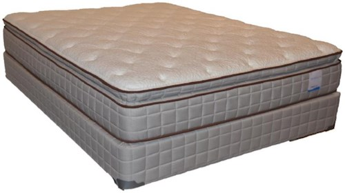 Corsicana 115 Pillow Top King 115 Pillow Top Mattress and Box Spring