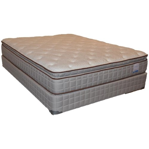 Corsicana 115 Pillow Top Full 115 Pillow Top Mattress and Box Spring