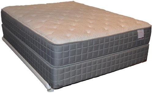 Corsicana 120 Plush King 120 Plush Mattress and Box Spring