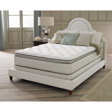 "Queen 14"" Plush Euro Top Mattress"