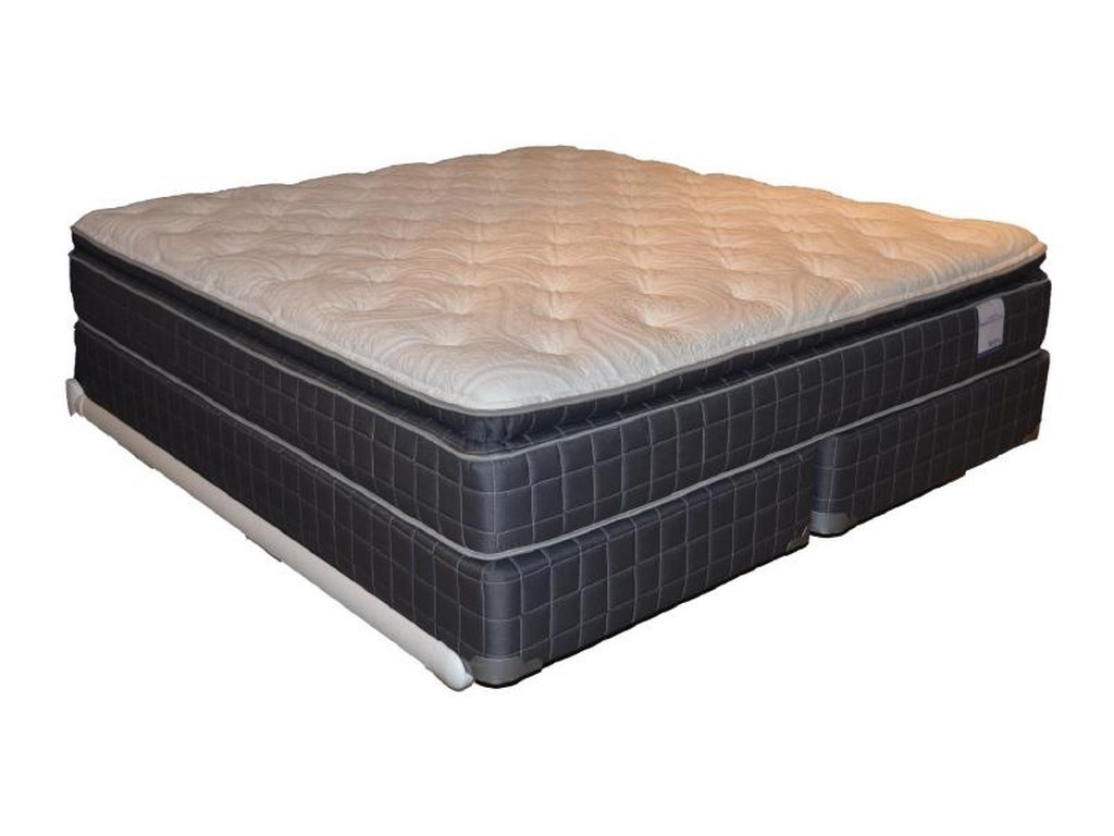 Corsicana 135 Pillow TopTwin Pillow Top Mattress Set