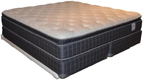 Corsicana 135 Pillow Top Queen 135 Pillow Top Mattress and Box Spring