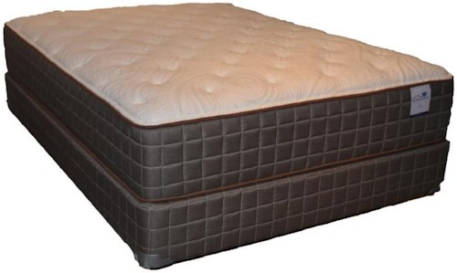 Corsicana 140 Plush Twin 140 Plush Mattress and Box Spring