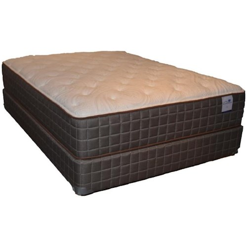 Corsicana 140 Plush Queen 140 Plush Mattress and Box Spring