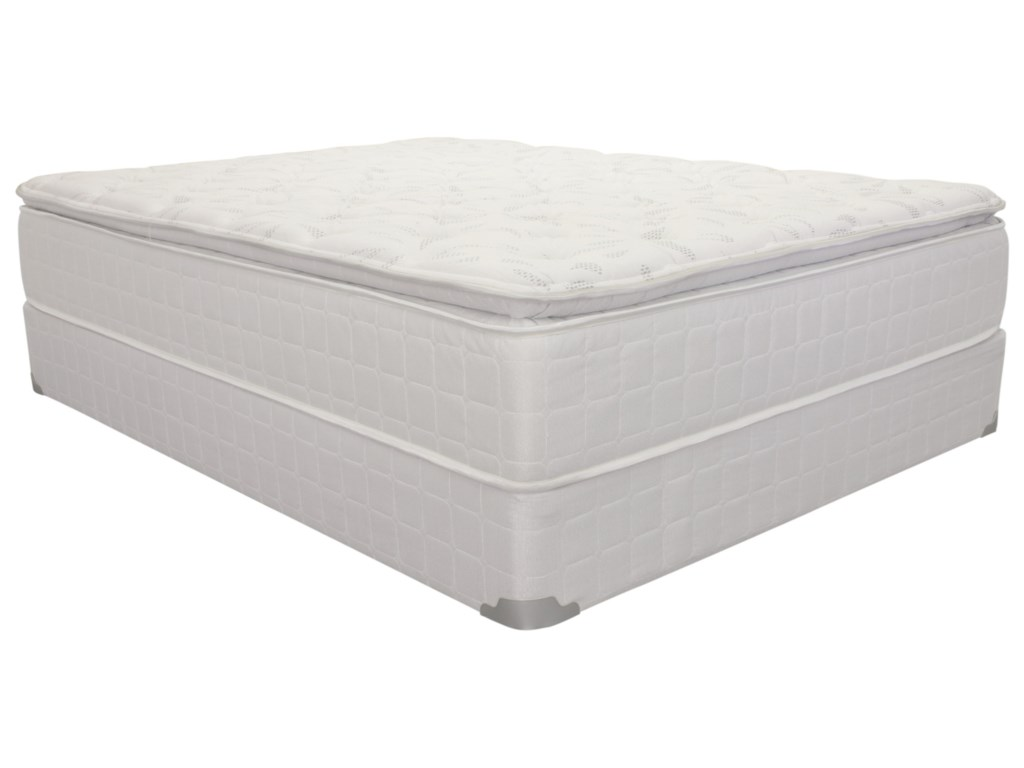 Corsicana 1425King Pillow Top Innerspring Mattress Set