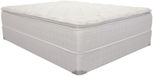 Corsicana 1425 Full Pillow Top Innerspring Mattress and 9