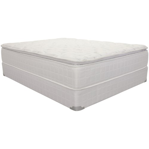 Corsicana 1425 King Pillow Top Innerspring Mattress and 9