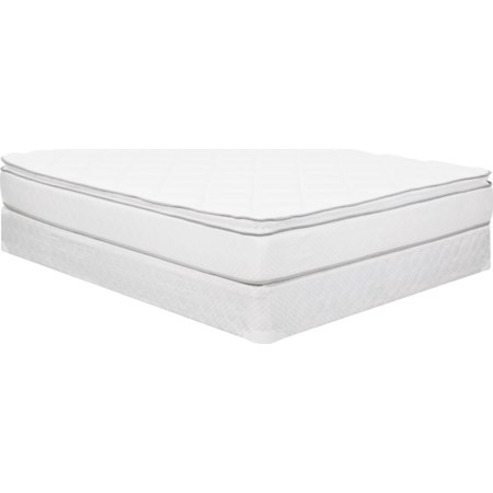 "Queen 10.5"" Pillow Top Mattress Set"
