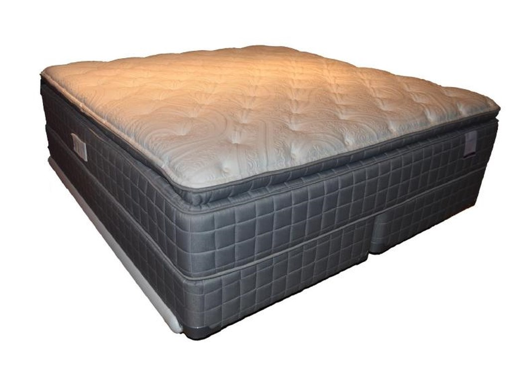 Corsicana 155 Pillow TopQueen Pillow Top Mattress Set