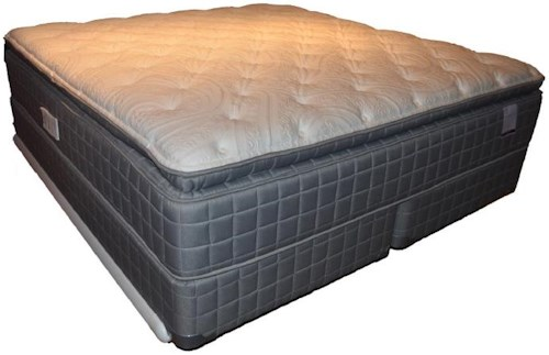 Corsicana 155 Pillow Top Full 155 Pillow Top Mattress and Box Spring