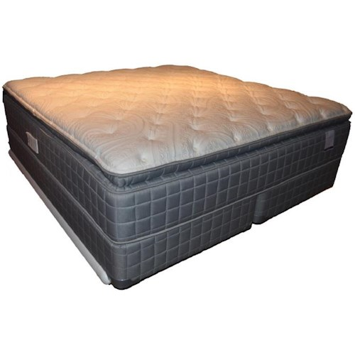 Corsicana 155 Pillow Top Queen 155 Pillow Top Mattress and Box Spring
