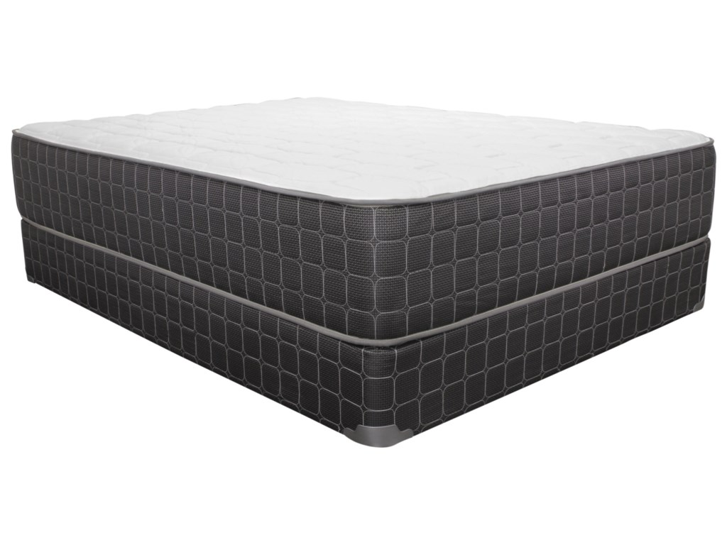 Corsicana 1705PRTwin Plush Mattress Set, LP