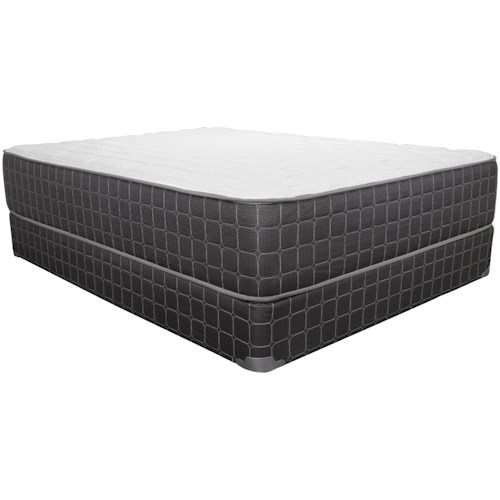Corsicana 1705PR King Plush Mattress and 9