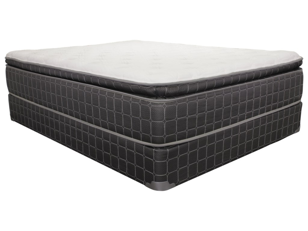 Image Represents and is Similar to Actual Mattress; Actual Foundation is 4