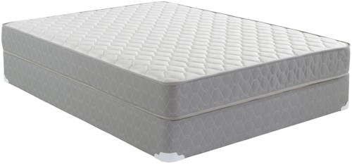 Corsicana 25SS Memory Foam Twin Memory Foam Mattress and Foundation