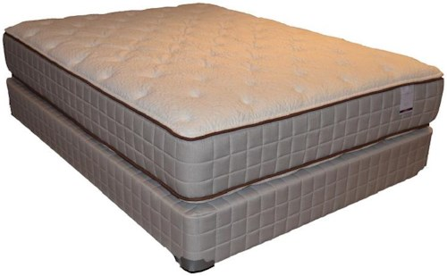 Corsicana 275 Two Sided Plush King 275 Two Sided Plush Mattress and Box Spring