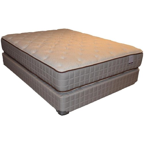 Corsicana 275 Two Sided Plush Full 275 Two Sided Plush Mattress and Box Spring