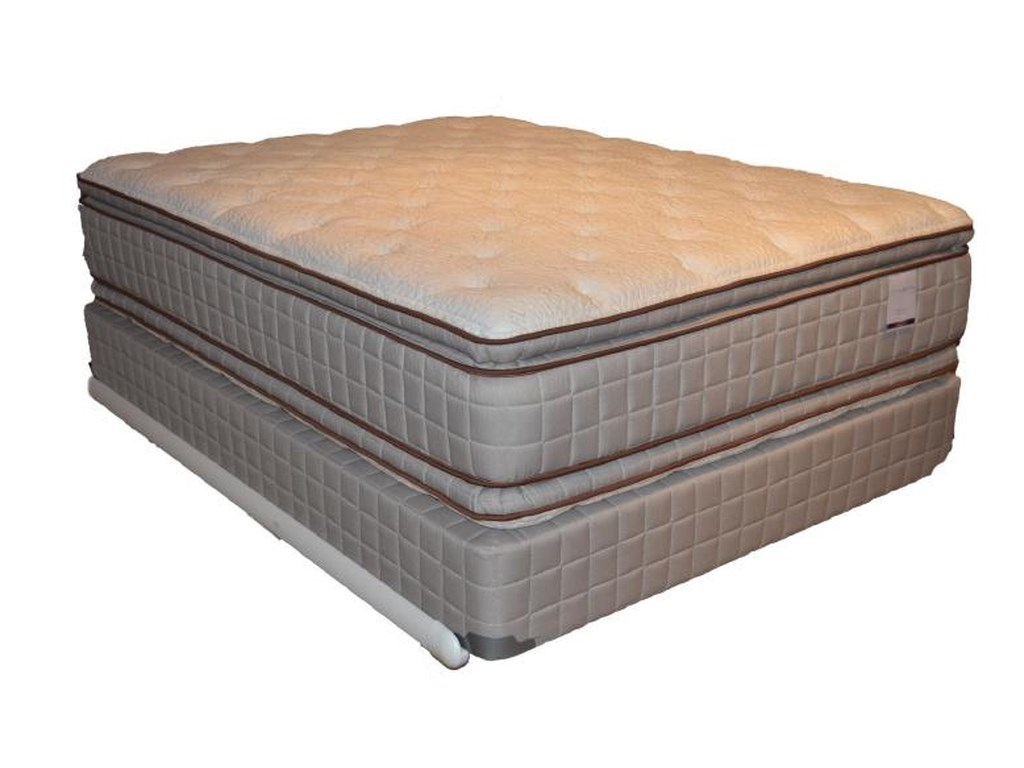 Corsicana 280 Two Sided Pillow TopTwin Pillow Top Mattress Set