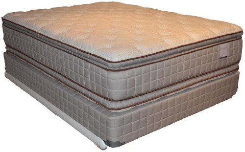 Corsicana 280 Two Sided Pillow Top Full 280 Two Sided Pillow Top Mattress and Box Spring