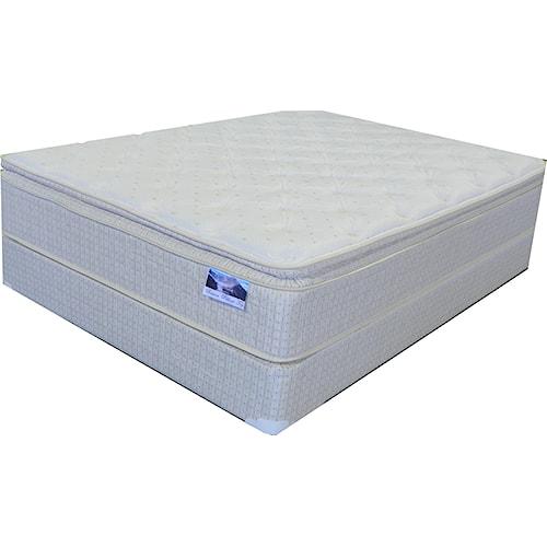 Corsicana Baron Queen Pillow Top Mattress And Box Spring