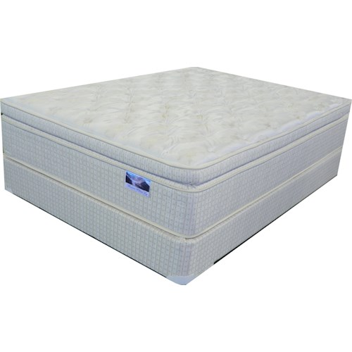 Corsicana Messina Twin Pillow Top Mattress And Box Spring Sparks Homestore Home Furnishings