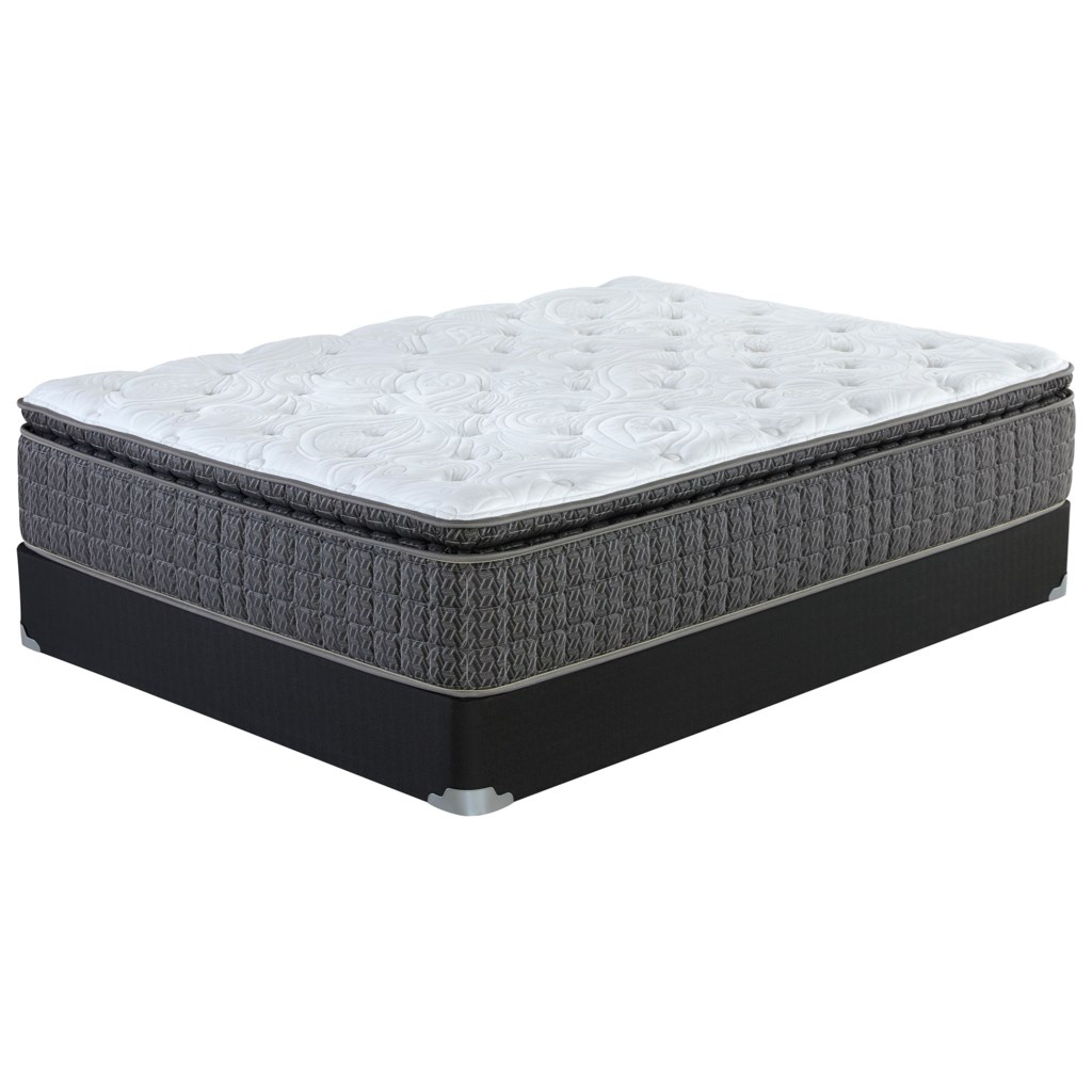 Corsicana Briley Pillow Top Queen Pillow Top Pocketed Coil Mattress