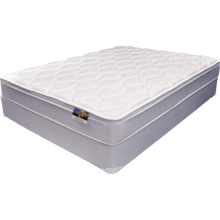 Broadlind Euro Top Mattress Set - Queen