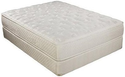 Corsicana Corsicana Queen Ashby Euro Top Mattress Set