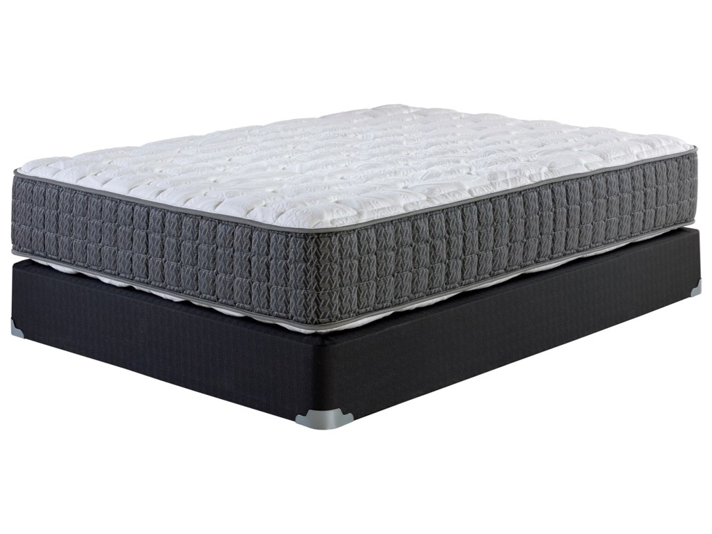 Corsicana Hallandale FirmCal King Firm Two Sided Mattress Set