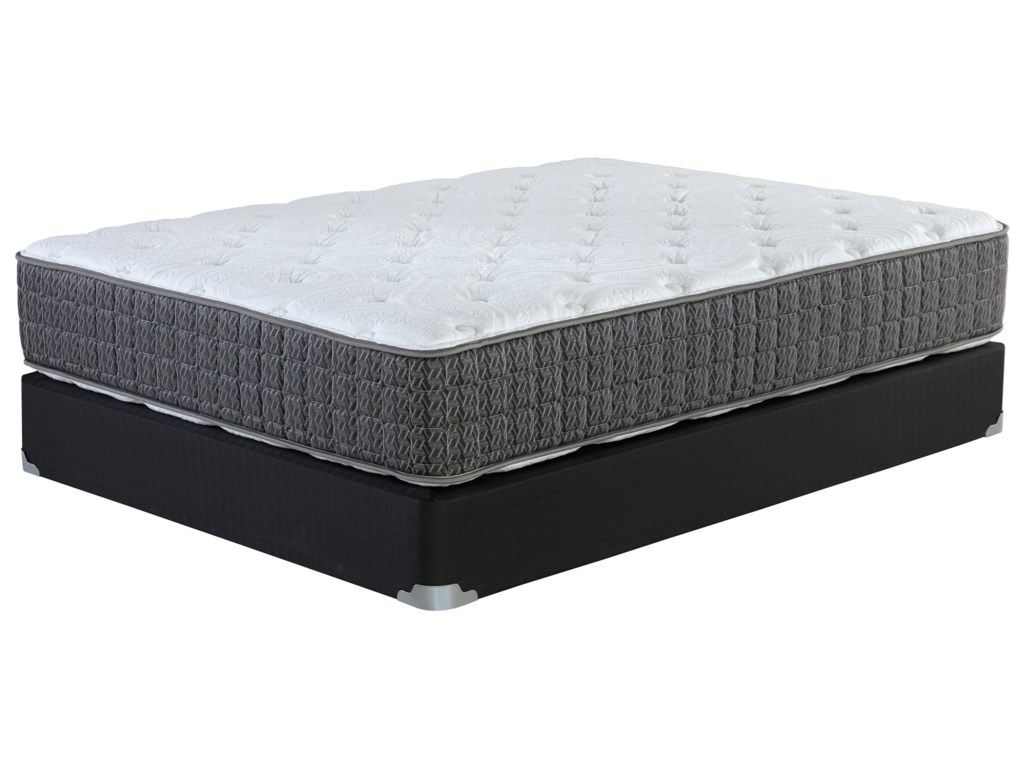 Corsicana Hallandale PlushQueen Plush Two Sided Mattress Set