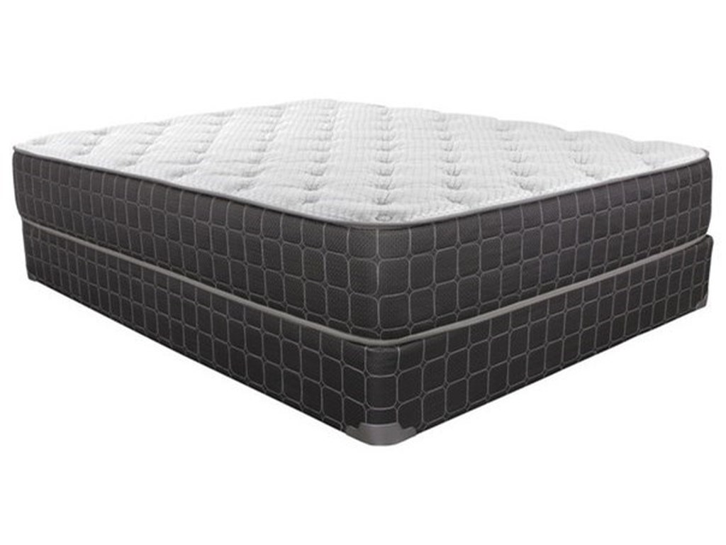 Corsicana Kato Cool PlushTwin Plush Innerspring Mattress Set