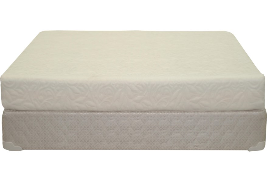 Visco Twin Plush 8 All Foam Mattress