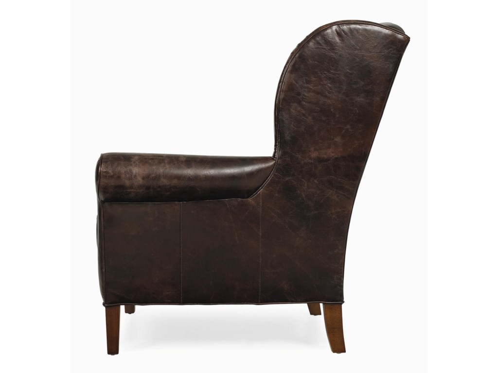 C.R. Laine AccentsLeather Chair
