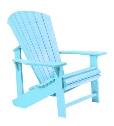 Cr Plastic Products Adirondack C01 11 Adirondack Chair Aqua