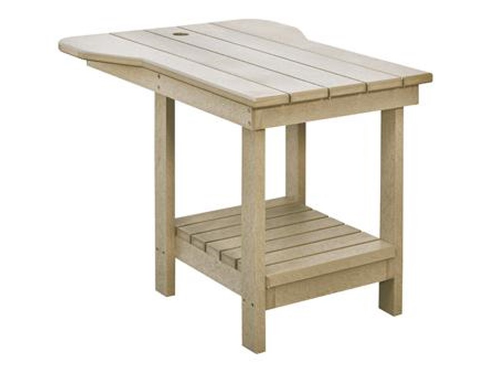 C R Plastic Products Generation Linetete A Tete Tall Table
