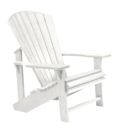 C.R. Plastic Products Generation LineAdirondack Chair
