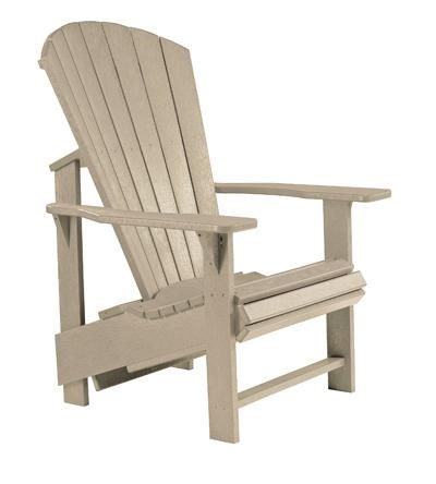 C.R. Plastic Products Generation LineAdirondack Upright Chair