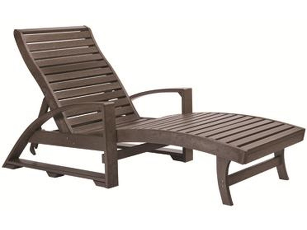 C.R. Plastic Products St TropezChaise Lounger
