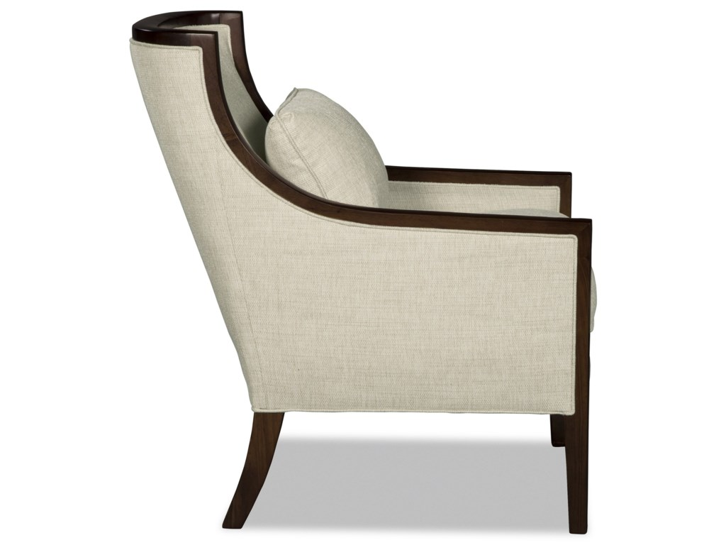 Craftmaster 001810Wood Accent Chair