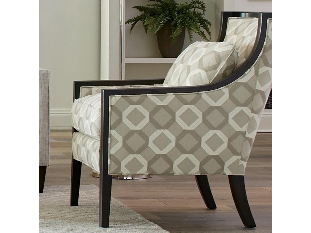 Hickorycraft 001810Wood Accent Chair