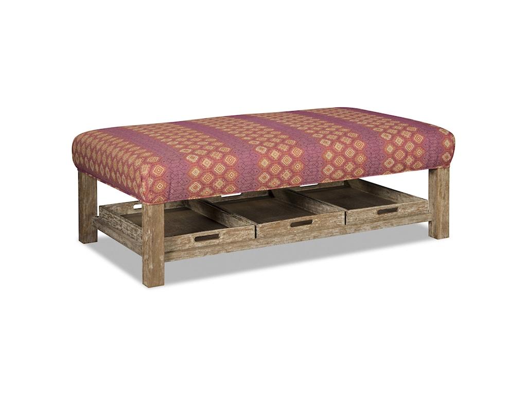 Craftmaster 034800Storage Ottoman